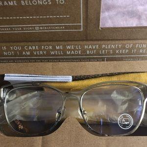 NWB The Book Club anti-glare glasses